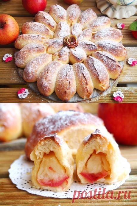 Отрывной яблочный пирог.