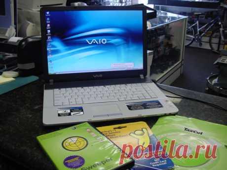 Сони ВАЙО ВГН-FS740/W в компании PCG-7D2L-ноутбук