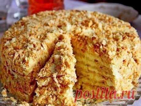 Торт «Светлана» (без выпечки). Очень вкусный и нежный вкус торта «Светлана». ...