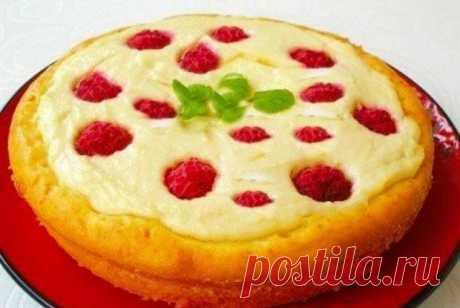 Пирог-ватрушка рецепт