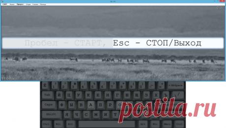 Как научиться печатать на клавиатуре вслепую?