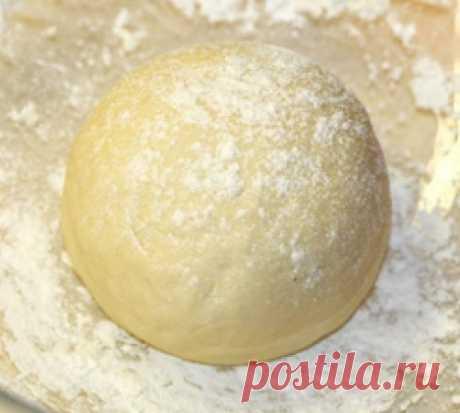 Рецепт тонкого и нежного теста для выпечки - для пиццы и пирожков