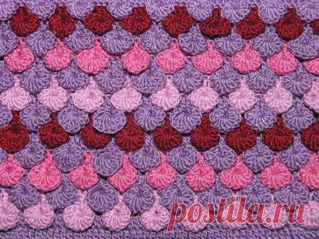 Чешуйки крючком или разрешить себе вязать | Minute Crochet | Яндекс Дзен