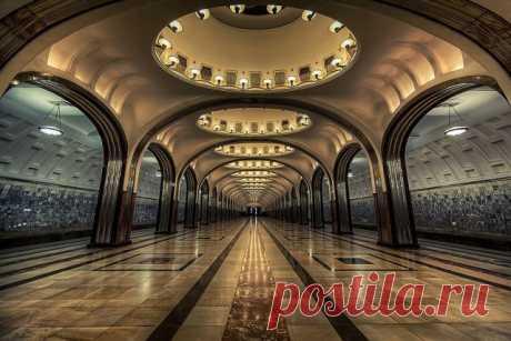 Самые красивые в мире станции метро