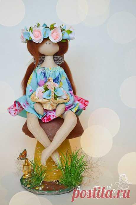 Мой МК по пошиву сидячей куколки | Хвастуны и хвастушки
