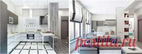 Что выбрать: качественную отделку или дизайнерскую мебель? Хозяева этой трешки уже определились: дизайнер сделала ставку на долговечные материалы и более демократичные предметы интерьера