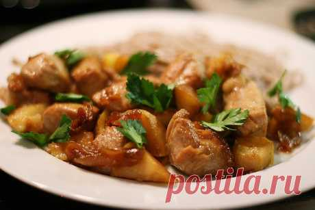 Tasty home-made goulash