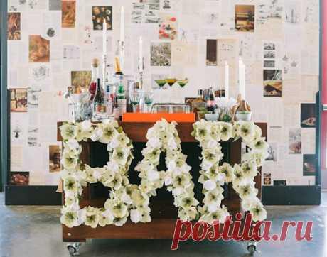 Бумажные цветы для декора - Домашний hand-made