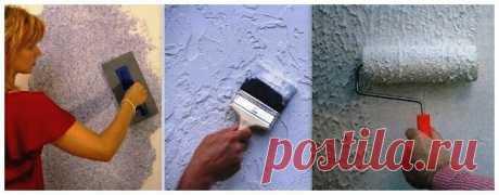 Как наносить жидкие обои на стену? | Полезности для дома | Яндекс Дзен