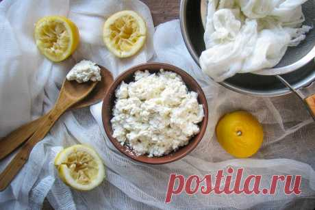 Рецепт домашнего сыра рикотта | Evil Olive Food