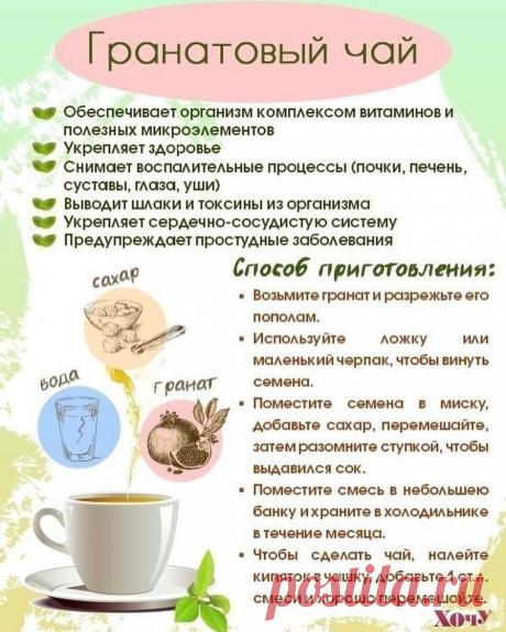 Такие вкусные и полезные чаи