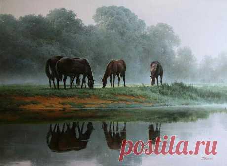 Творчество белорусского художника Сергея Трухана