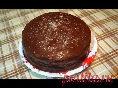 Безумно вкусный шоколадный торт