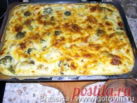 Овощи как в Анталии (овощи под сырной корочкой) . Фото-рецепт / Готовим.РУ
