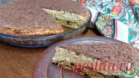 """Творожный пирог """"наоборот"""" с шоколадом Кулинарный рецепт"""