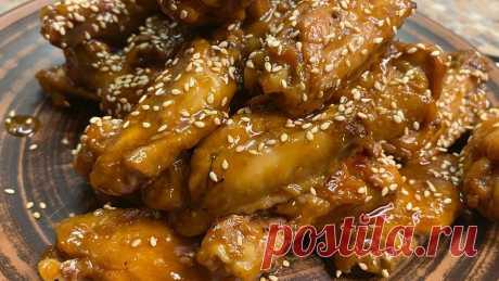 Научу вас готовить куриные крылья по-новому: сможете хвастаться этим простым рецептом перед друзьями | Гастрономическая Шизофрения | Яндекс Дзен