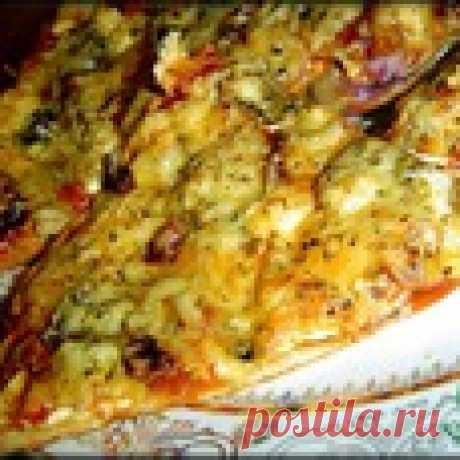 Пицца из «хрущевского теста» Кулинарный рецепт