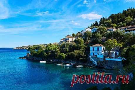Пляжи острова Итака (Греция)   Чемоданы на PilgrimStore.RU   Яндекс Дзен