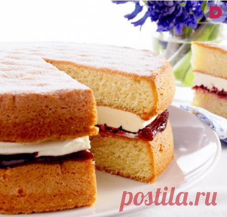 Бисквит для торта пышный и простой в духовке и в мультиварке