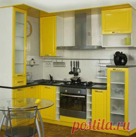 Как обустроить небольшую угловую кухню | Наши дома