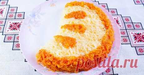 Праздничный салат «Апельсиновая долька» — достойное украшение новогоднего стола — Вкусные рецепты