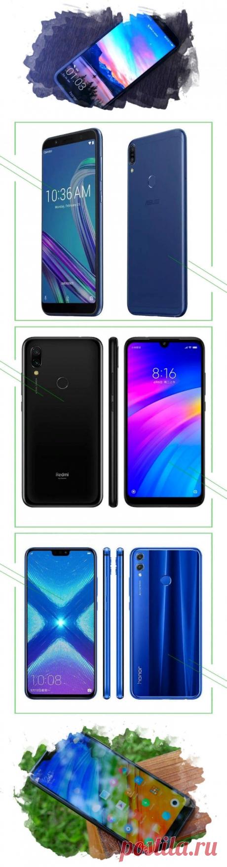 ТОП-7 лучших смартфонов до 15000 рублей 2019 года