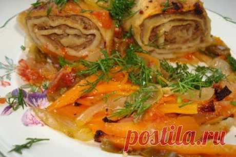 Отличный ужин: «Гусарики» с мясом и картошкой — Вкусные рецепты