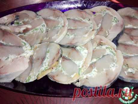 ¡El panecillo de la caballa con el aceite de ajo - ul±tnaya zakusochka!.
