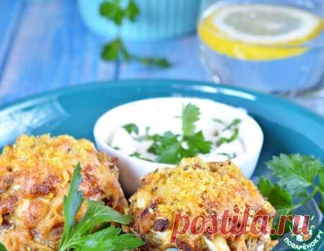 Шампиньоны, фаршированные яичной начинкой – кулинарный рецепт