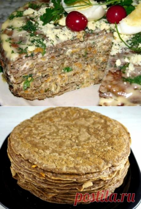 Готовим печеночный торт | Вперед✔огород | Яндекс Дзен