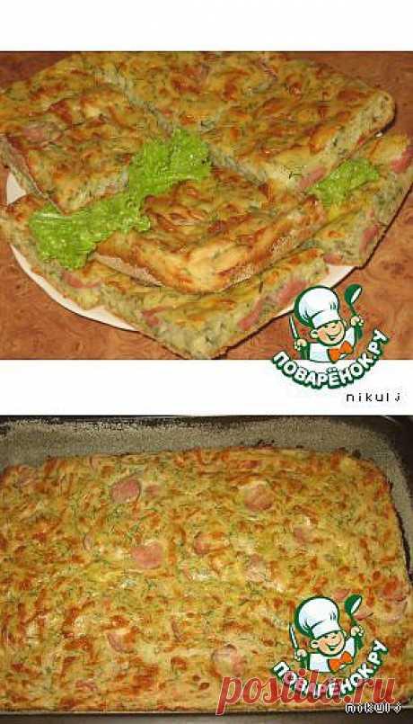 Сырный пирог - кулинарный рецепт