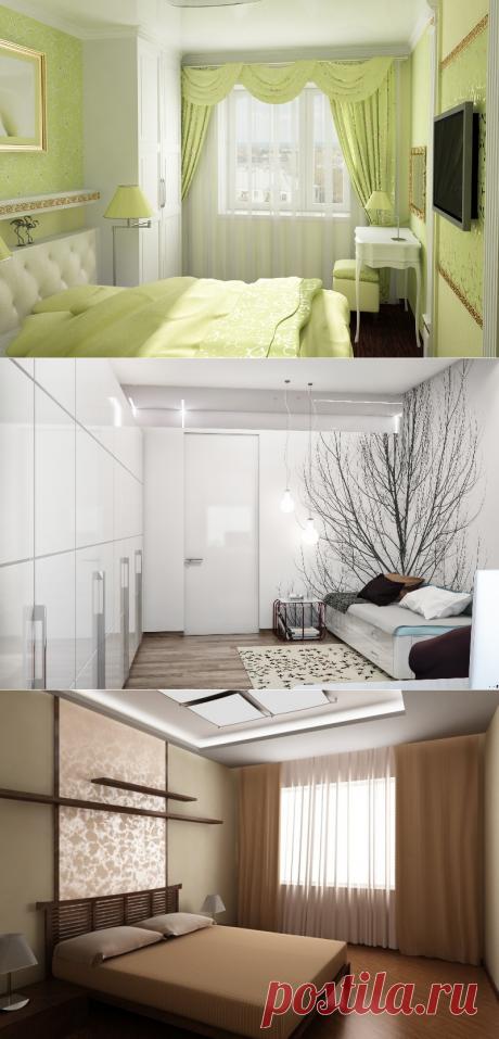 Дизайн маленьких спален своими руками | Интерьерные штучки