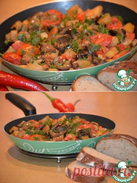 Аджапсандали - кулинарный рецепт
