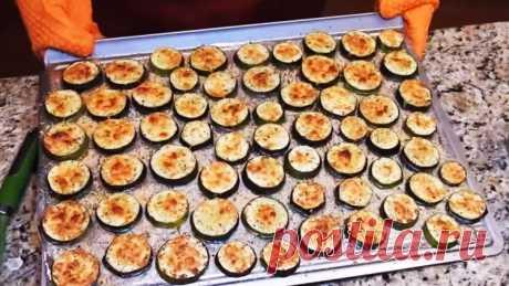 Супер хрустящие молодые кабачки - Лучший сайт кулинарии