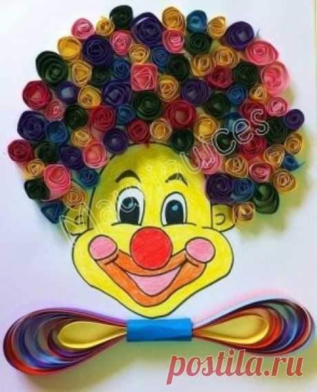 Делаем веселых клоунов с детьми!