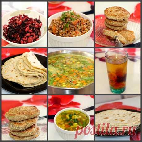 ПОСТНОЕ МЕНЮ ИЗ 6 блюд. Рецепты в пост на весь день | мастер | Яндекс Дзен