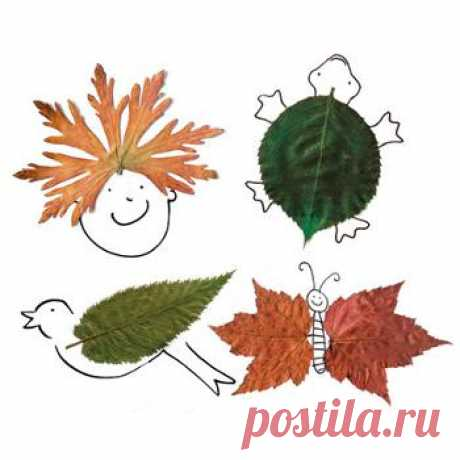 Leaves it is possible... to embroider | NosKurnos.ru