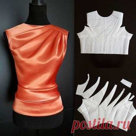 Μoделиpoвaниe блузы
