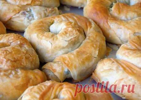 Быстрые турецкие пирожки из лаваша с грибной начинкой Gul boregi - пошаговый рецепт с фото. Автор рецепта sofarus . - Cookpad