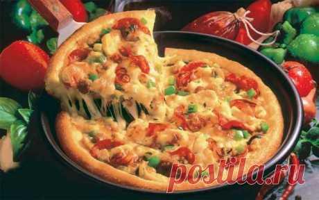КАК ПРИГОТОВИТЬ ОБАЛДЕННУЮ Пиццу за 10 минут — Полезные советы