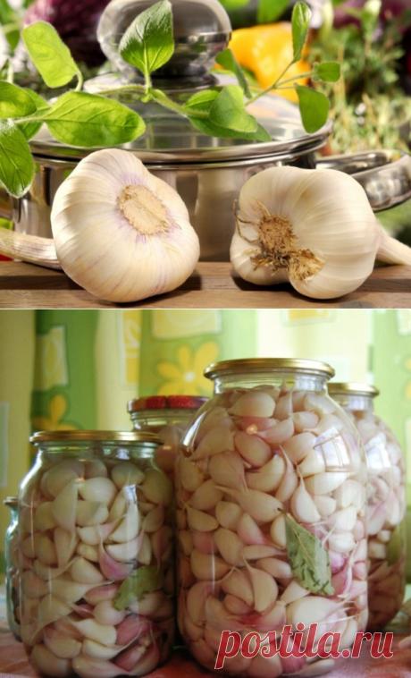 Маринованный чеснок рецепт по-грузински | LS