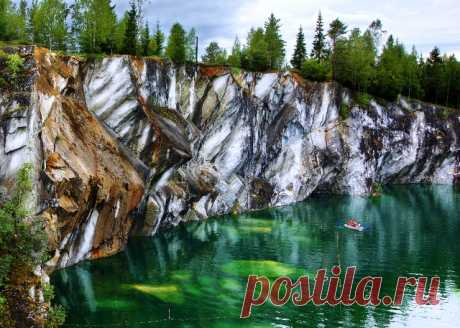 Горный парк «Рускеала» (Карелия)