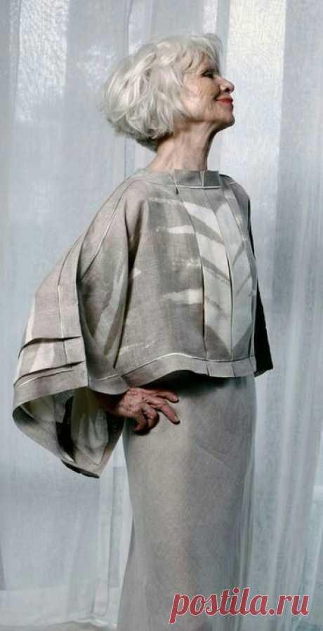 Выкройка бохо блузы изо льна