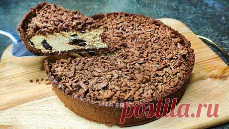 Серьёзный конкурент тортам и чизкейкам: Королевский шоколадный пирог с творогом.   Ольга Лунгу   Яндекс Дзен