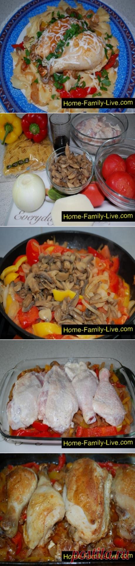 Курица по-охотничьи/Сайт с пошаговыми рецептами с фото для тех кто любит готовить