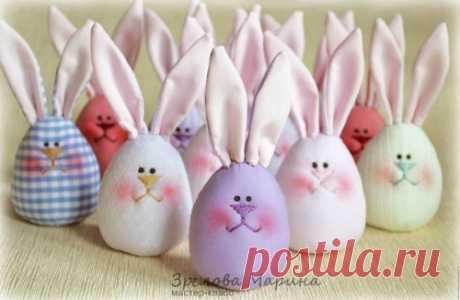 Пасхальные яйца — веселые зайцы (Шитье и крой) – Журнал Вдохновение Рукодельницы