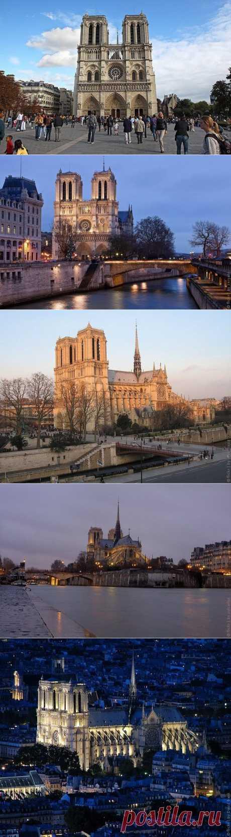 Собор Парижской Богоматери, Париж, Франция, фото собора