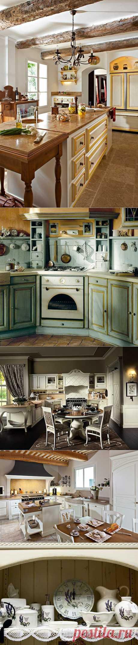 Дизайн кухни в стиле прованс | Официальный сайт дизайнера Галины Татаровой Design Club