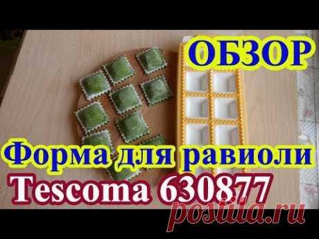 Форма для квадратных равиоли 10 шт Tescoma Delicia 630877