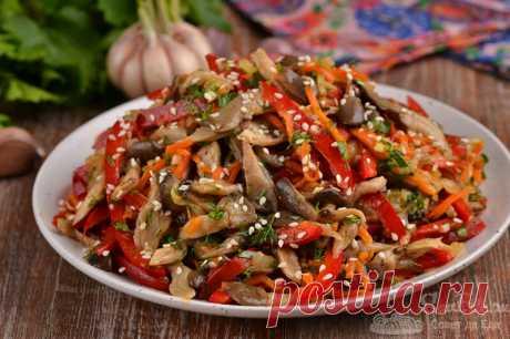 Самый вкусный грибной салат, который готовлю без майонеза.   Совет да Еда   Яндекс Дзен